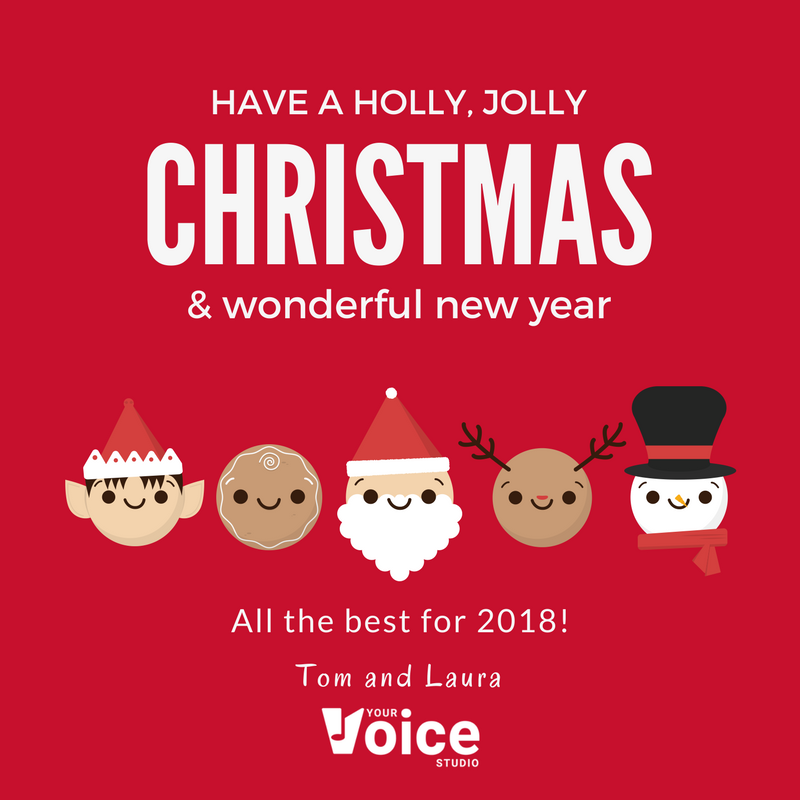 Merry Christmas from Your Voice Studio