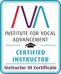 Instructor III Certificate