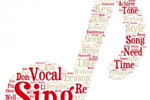 What should I be learning in my singing lessons?